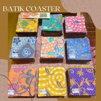 Orange Batik Apron