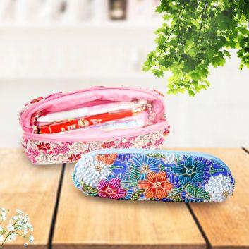 Beads Batik Pen Case