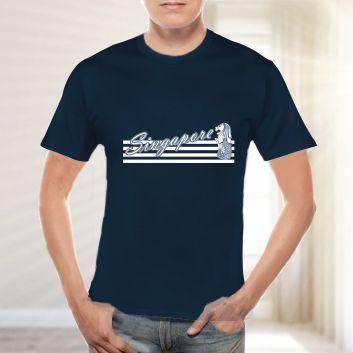 ストライプ4 Tシャツ