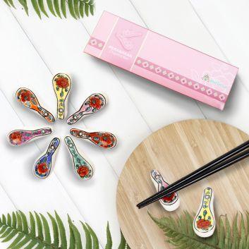 プラナカン箸置きギフトセット(7個入り)