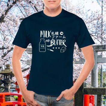ミルク&バターTシャツ