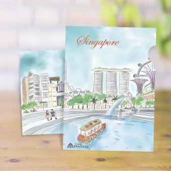 シンガポールリバーA4クリアファイル