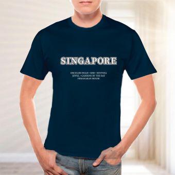 シンガポールスポット Tシャツ