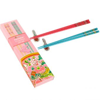 プラナカン箸置き&箸セット【二膳】