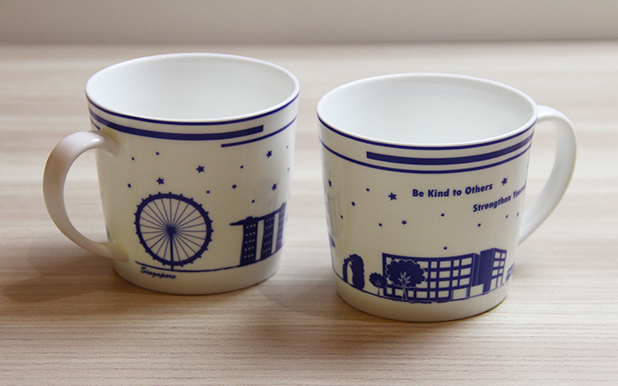 The Japanese School, Singapore Secondary Campus 50th year anniversary cups